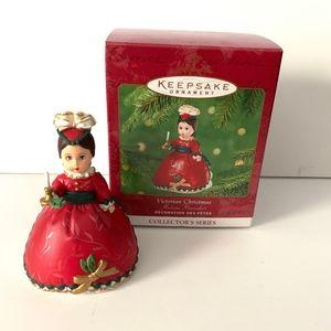 🌺 Hallmark Keepsake Ornaments Victorian Christmas